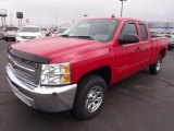 2013 Victory Red Chevrolet Silverado 1500 LS Extended Cab #76929047