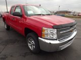 2013 Chevrolet Silverado 1500 LS Extended Cab Front 3/4 View