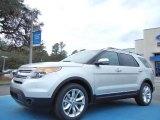 2013 Ingot Silver Metallic Ford Explorer Limited EcoBoost #76928795