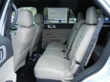 2013 Ford Explorer Limited EcoBoost Rear Seat