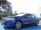2013 Deep Impact Blue Metallic Ford Fusion Titanium #76928789