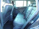 2011 Volkswagen Tiguan S 4Motion Rear Seat