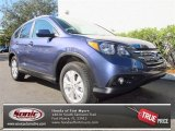 2013 Twilight Blue Metallic Honda CR-V EX-L #76928671