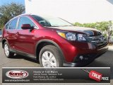 2013 Basque Red Pearl II Honda CR-V EX-L #76928670