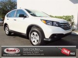 2013 White Diamond Pearl Honda CR-V LX #76928669