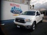 2011 Super White Toyota Tundra SR5 Double Cab 4x4 #76928779