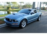 2007 Windveil Blue Metallic Ford Mustang GT Premium Coupe #76928905