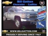 2013 Silver Ice Metallic Chevrolet Silverado 1500 LT Crew Cab 4x4 #76929238
