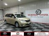 2012 Sandy Beach Metallic Toyota Sienna LE #76928757