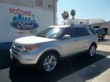 2013 Ingot Silver Metallic Ford Explorer Limited #76928750