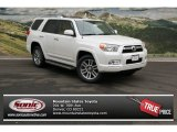 2013 Blizzard White Pearl Toyota 4Runner Limited 4x4 #76928637