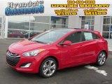 2013 Volcanic Red Hyundai Elantra GT #76928626