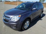 2013 Atlantis Blue Metallic Chevrolet Equinox LT #76929107