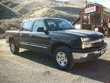 2005 Dark Gray Metallic Chevrolet Silverado 1500 LS Crew Cab 4x4 #76929190