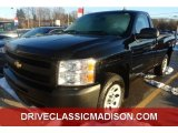 2009 Black Chevrolet Silverado 1500 Regular Cab #76929078