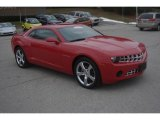 2010 Victory Red Chevrolet Camaro LS Coupe #76987602