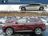 2013 Claret Red Mica Lexus RX 450h AWD #76987379