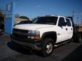 2002 Chevrolet Silverado 3500 LT Crew Cab 4x4 Chassis Data, Info and Specs