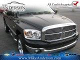 2008 Brilliant Black Crystal Pearl Dodge Ram 1500 SLT Quad Cab 4x4 #76987915