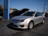 2011 Ingot Silver Metallic Ford Fusion S #76987481