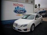 2011 White Suede Ford Fusion SEL #76987267