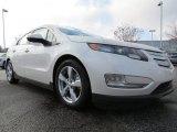 2013 White Diamond Tricoat Chevrolet Volt  #76987454