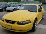1999 Ford Mustang Chrome Yellow