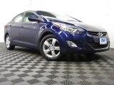 2012 Indigo Night Blue Hyundai Elantra GLS #76987565