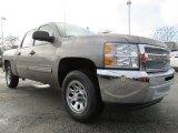 2013 Graystone Metallic Chevrolet Silverado 1500 LS Crew Cab #76987452