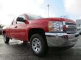 2013 Victory Red Chevrolet Silverado 1500 LS Extended Cab #76987450
