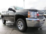 2013 Black Chevrolet Silverado 1500 LS Regular Cab #76987449