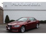 2012 Vermilion Red Metallic BMW 3 Series 328i Convertible #76987232