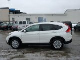2013 White Diamond Pearl Honda CR-V EX-L AWD #76987662