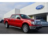 2013 Ruby Red Metallic Ford F150 XLT SuperCrew 4x4 #76987324