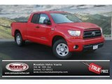 2013 Radiant Red Toyota Tundra SR5 Double Cab 4x4 #76987120