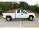 2009 Summit White Chevrolet Silverado 1500 LT Extended Cab #76987859