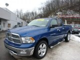 2011 Deep Water Blue Pearl Dodge Ram 1500 Big Horn Quad Cab 4x4 #76987548