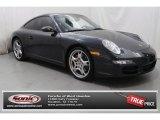 2007 Black Porsche 911 Carrera 4S Coupe #76987431