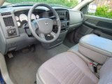 2008 Dodge Ram 1500 SXT Regular Cab Medium Slate Gray Interior