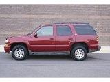 2004 Sport Red Metallic Chevrolet Tahoe Z71 4x4 #76987854