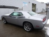 Billet Silver Metallic Dodge Challenger in 2013