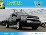 2008 Dark Blue Metallic Chevrolet Silverado 1500 LT Crew Cab #76987754