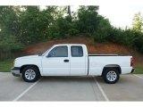 2005 Summit White Chevrolet Silverado 1500 LS Extended Cab #76987838