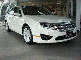 2010 White Suede Ford Fusion SE V6 #76987743
