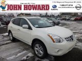 2013 Pearl White Nissan Rogue SV AWD #76987614
