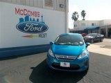 2013 Blue Candy Ford Fiesta SE Sedan #77042497