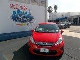 2013 Race Red Ford Fiesta SE Sedan #77042496