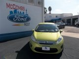 2013 Lime Squeeze Ford Fiesta SE Sedan #77042495