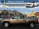 2013 Mocha Steel Metallic Chevrolet Silverado 1500 LT Crew Cab 4x4 #77042777
