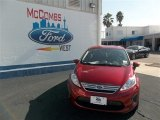 2013 Ruby Red Ford Fiesta SE Sedan #77042491